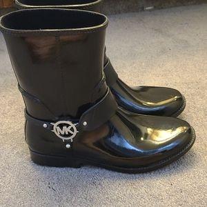 Michael Kors Size 10 Rainboots